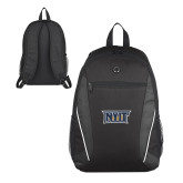 Atlas Black Computer Backpack-NYIT