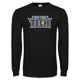 Black Long Sleeve T Shirt-New York Tech
