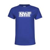 Youth Royal T Shirt-NYIT