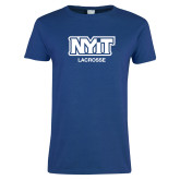 Ladies Royal T-Shirt-Lacrosse