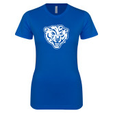 Next Level Ladies SoftStyle Junior Fitted Royal Tee-Mascot