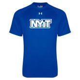 Under Armour Royal Tech Tee-NYIT