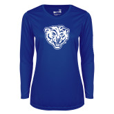 Ladies Syntrel Performance Royal Longsleeve Shirt-Mascot