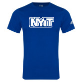 Adidas Royal Logo T Shirt-NYIT