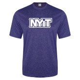 Performance Royal Heather Contender Tee-NYIT