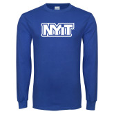 Royal Long Sleeve T Shirt-NYIT