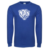 Royal Long Sleeve T Shirt-Mascot