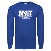 Royal Long Sleeve T Shirt-Baseball