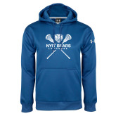 Under Armour Royal Performance Sweats Team Hoodie-Lacrosse Design