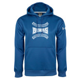 Under Armour Royal Performance Sweats Team Hoodie-Baseball Design