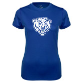 Ladies Syntrel Performance Royal Tee-Mascot
