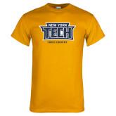 Gold T Shirt-Cross Country New York Tech