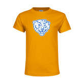 Youth Gold T Shirt-Mascot