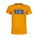 Youth Gold T Shirt-New York Tech