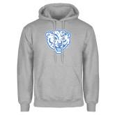 Grey Fleece Hoodie-Mascot