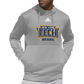 Adidas Grey Team Issue Hoodie-New York Tech Bears