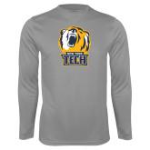 Performance Steel Longsleeve Shirt-New York Tech Bear Head