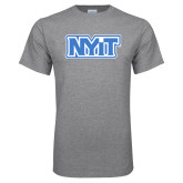 Grey T Shirt-NYIT
