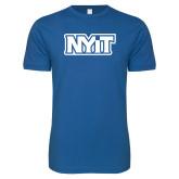 Next Level SoftStyle Royal T Shirt-NYIT
