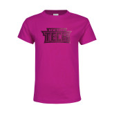 Youth Cyber Pink T Shirt-New York Tech Foil