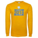 Gold Long Sleeve T Shirt-Class Of Design