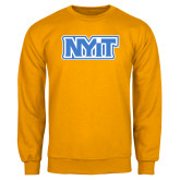 Gold Fleece Crew-NYIT