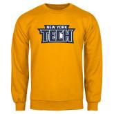 Gold Fleece Crew-New York Tech
