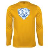 Performance Gold Longsleeve Shirt-Mascot