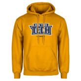 Gold Fleece Hoodie-Lacrosse New York Tech
