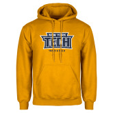 Gold Fleece Hoodie-Track and Field New York Tech