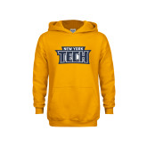 Youth Gold Fleece Hoodie-New York Tech