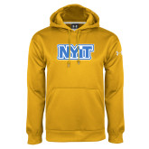 Under Armour Gold Performance Sweats Team Hoodie-NYIT
