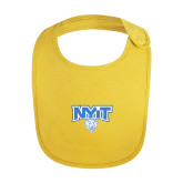 Yellow Baby Bib-Primary Mark