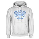 White Fleece Hoodie-2018 NYIT ECC Tennis Champions