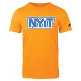 Adidas Gold Logo T Shirt-NYIT