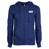 ENZA Ladies Royal Fleece Full Zip Hoodie-NYIT
