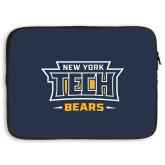 15 inch Neoprene Laptop Sleeve-New York Tech Bears