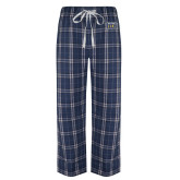 Navy/White Flannel Pajama Pant-New York Tech