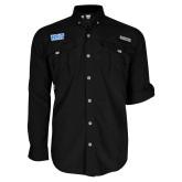 Columbia Bahama II Black Long Sleeve Shirt-NYIT