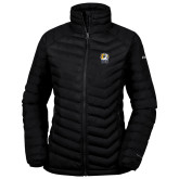 Columbia Powder Lite Ladies Black Jacket-New York Tech Bear Head