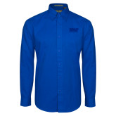 Royal Twill Button Down Long Sleeve-NYIT