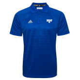 Adidas Climalite Royal Jacquard Select Polo-Primary Mark