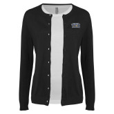 Ladies Black Cardigan-New York Tech