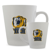 Full Color Latte Mug 12oz-New York Tech Bear Head