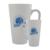 Full Color Latte Mug 17oz-2019 ECC Womens Basketball Champions