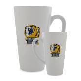 Full Color Latte Mug 17oz-New York Tech Bear Head