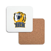Hardboard Coaster w/Cork Backing-New York Tech Bear Head