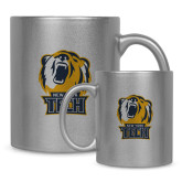 Full Color Silver Metallic Mug 11oz-New York Tech Bear Head