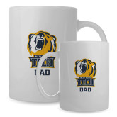 Dad Full Color White Mug 15oz-Alumni