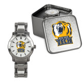 Mens Stainless Steel Fashion Watch-New York Tech Bear Head